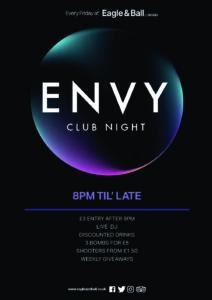 Envy @ The Eagle & Ball