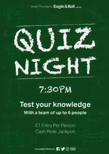 Quiz Night @ The Eagle & Ball