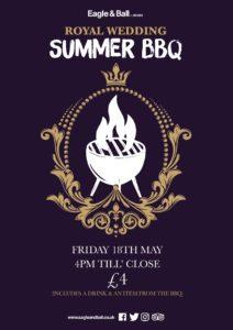 Royal Wedding Summer BBQ @ Eagle & Ball Pub
